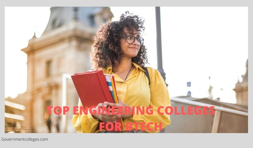 Government colleges for Btech